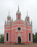 chesme教会彼得斯堡俄国圣徒 免版税图库摄影