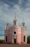 Chesme教会,圣彼得堡,俄罗斯 库存图片