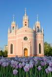Chesme Church architect Yury Felten  Royalty Free Stock Photography
