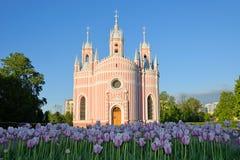 Chesme Church architect Yury Felten Royalty Free Stock Image