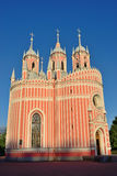 Chesme Church architect Yury Velten in St. Petersburg Royalty Free Stock Images