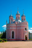 Chesme Church. Church of St John the Baptist Chesme Palace in Saint Petersburg, Russia Royalty Free Stock Image
