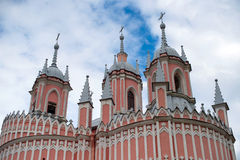 Chesme Church, a monument of architecture in Gothic. Stock Photos