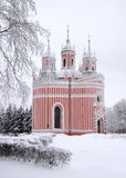 Chesme Church in Saint-Petersburg Royalty Free Stock Photography