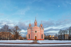 Chesme Church, St. Petersburg Stock Images