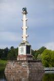 The Chesme Column. Catherine Park. Pushkin (Tsarskoye Selo). Petersburg Stock Images