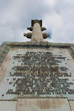 Chesme Column. Tsarskoye Selo, Russia. Stock Image