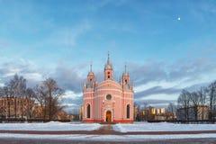 Chesme kościół, St Petersburg obrazy stock