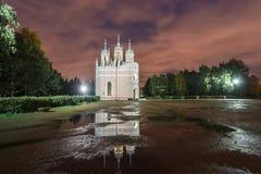 Chesme kyrka, St Petersburg Arkivbild