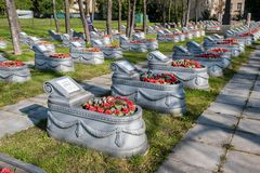Free Chesme Military Memorial Cemetery, St. Petersburg Stock Image - 157384301
