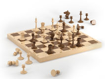 Chess 1 Royalty Free Stock Photography