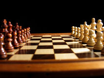 Chess 1 Royalty Free Stock Photos