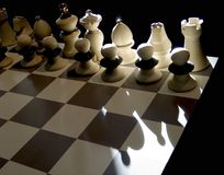 Chess. Board and Royalty Free Stock Images