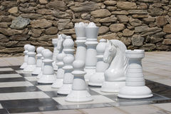 Chess. Board waits a player Royalty Free Stock Photo