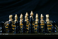 Chess. Table top of game of chess Royalty Free Stock Images