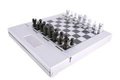 Chess. Kit, isolated on white Royalty Free Stock Photo