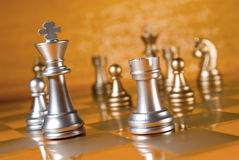 Chess. Combination. A full series in portfolio by word royalty free stock photography