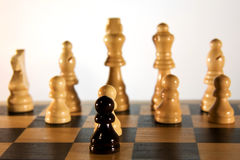 Chess. Is the oldest strategy game royalty free stock image