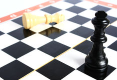 Chess. Chess - a game for the development of strategy and logic Stock Photos