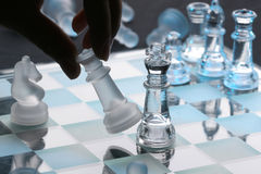 Chess. Move ,industrial and ilustrational use Royalty Free Stock Image