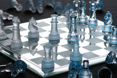 Chess. Move ,industrial and ilustrational use Stock Image