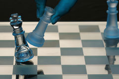 Chess. Move ,industrial and ilustrational use Stock Photos