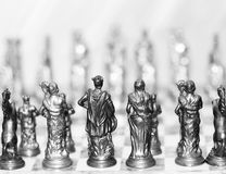 Chess. Game, metaphor for strategy and business Stock Photo