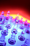 Chess. Colorful still life of chess pieces royalty free stock images