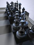 Chess. Background possible to use for printing and project Royalty Free Stock Images
