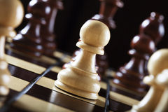 The chess. The pawn. See my other works in portfolio Royalty Free Stock Photography