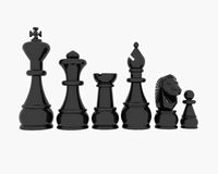Chess - 3D Stock Photos