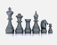 Chess - 3D Stock Images