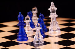 Chess. Photo of Chess Pieces royalty free stock images