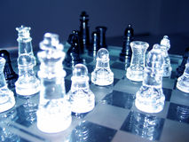 Chess. Game royalty free stock photos