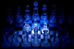 Chess. Opening spotlight Stock Photos