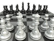 Chess. Game. For background or web royalty free illustration