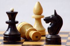 Chess. Action, activity, analytic, black, brave, champion, character, chess royalty free stock images