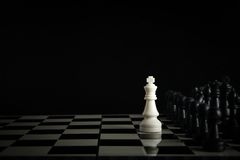 Free Chess Against Stock Photo - 54182850