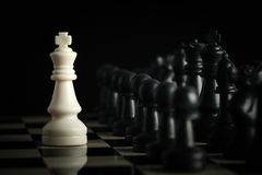 Chess against Stock Images