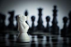 Chess against Royalty Free Stock Photo