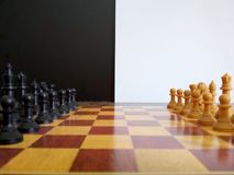Chess/ajedrez. Chess black and white royalty free stock image