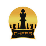 Chess app Logo Royalty Free Stock Image