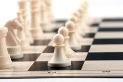 Chess Army Royalty Free Stock Photography