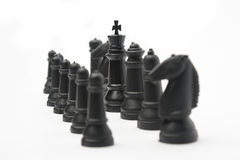 Chess army Royalty Free Stock Photo