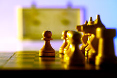 Chess army Stock Image