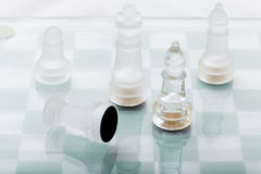 Chess arrangement Royalty Free Stock Photography