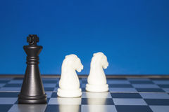 Chess as a business 10 Stock Photo