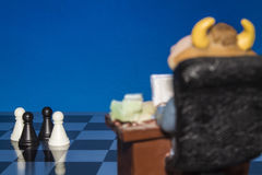 Chess as a business 3 Royalty Free Stock Image