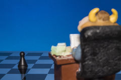 Chess as a business 1 Stock Photos