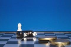 Chess as a business  Stock Photos